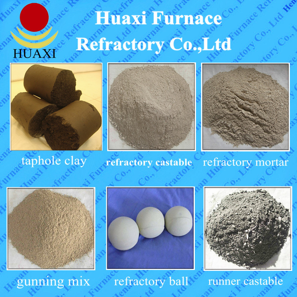 Furnace Unshaped Refractory Gunning Mix
