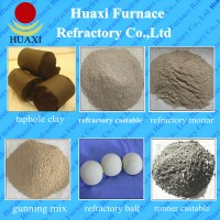 Furnace Unshaped Refractory Gunning Mix