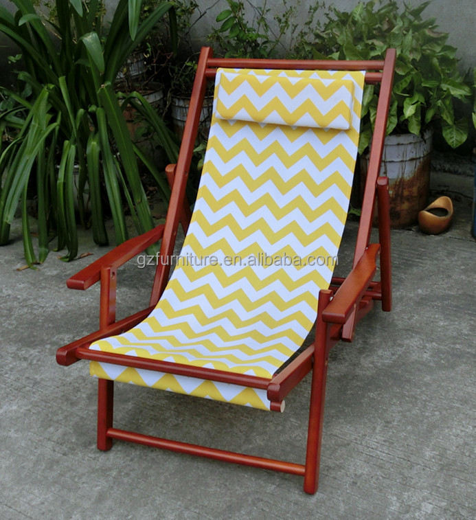 Antique Wooden Folding Personalized Beach Chairs  Buy
