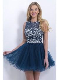 Cute Ballroom Dance Dress Keyhole Open Back Party Dress ...