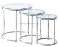Glass Nesting Coffee Tables - Bestsciaticatreatments.com