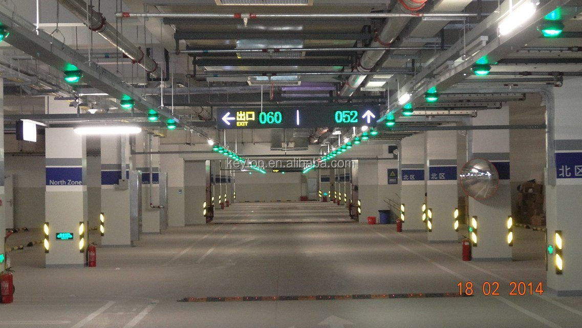 Ce Approved Intelligent Car Parking Guidance System For