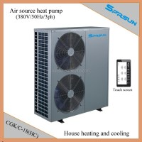 Heat Pump Air Conditioner System For Central Heating And ...