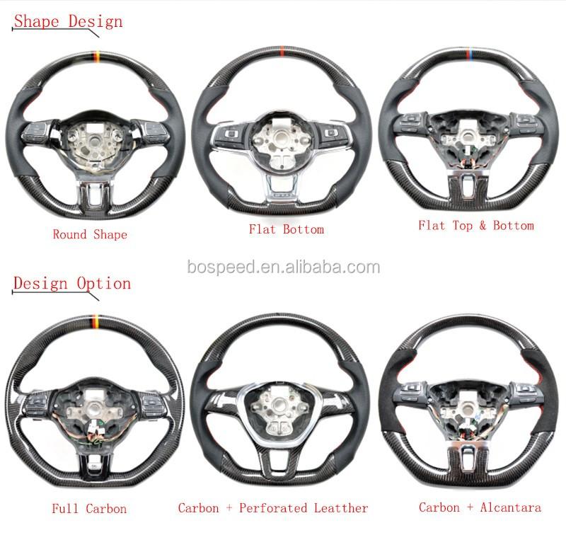 Racing Car Carbon Fiber Steering Wheel For Toyota Crown