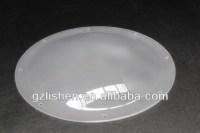 diffuser plastic half round flat dome lamp shade, View ...