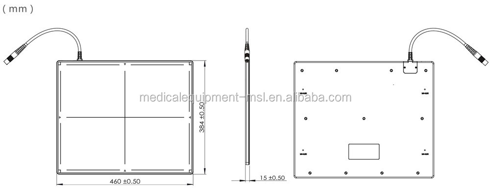 1500l High Technology Dr System Flat Panel Detector,X-ray