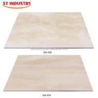 Low Price Polished Fantastic White Faux Marble Slab