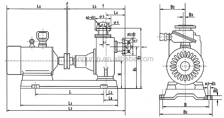 Industrial Blower Drawing Hbf Blower Exhaust Sketch