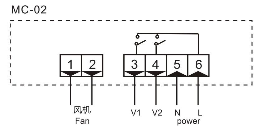 MC-01 Digital HVAC Thermostat Temperature Controller with