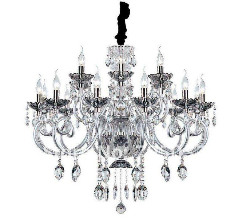 Venetian Glass Classical Chandelier Pendant For Buckingham