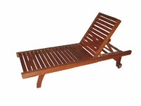 Adjustable Stackable Easy-chair,Wood Beach Chair - Buy ...