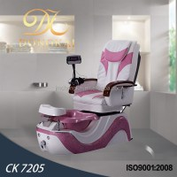 Ck 7205 Purple Leather Pedicure Chairs For Spa