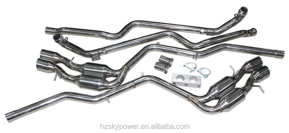 For 08-12 Mercedes Benz Amg C63 6.3 V8 Stainless Catback