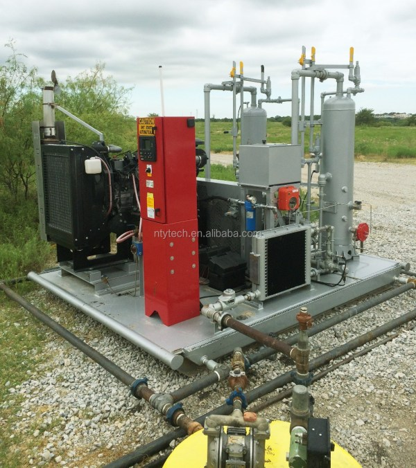 Wellhead Natural Gas Compressor - Year of Clean Water