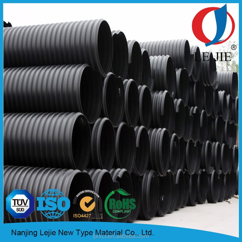 """Hdpe 10 Inch 2"""" Corrugated Drainage Pipe"""
