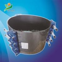 2015---DI pipe leak repair clamp for pvc pipe, Dalian ...