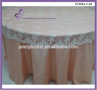 Tl002w3 Elegant White Cap Lace Table Overlays - Buy Lace ...