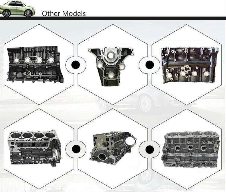 Hot vendas Super Qualidade 4JB1/4JB1T Motor bloco
