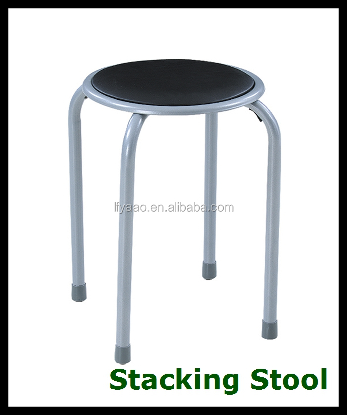 Wholesale Cheap Metal Stackable Dining Chair Kps1597