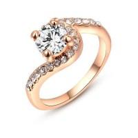 Wholesale Diamond Ring For Women Gold Cheap Wedding Ring ...