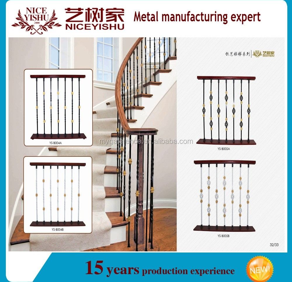 Used Wrought Iron Stair Railing Cheap Balustrade On Sale | Stair Banisters For Sale