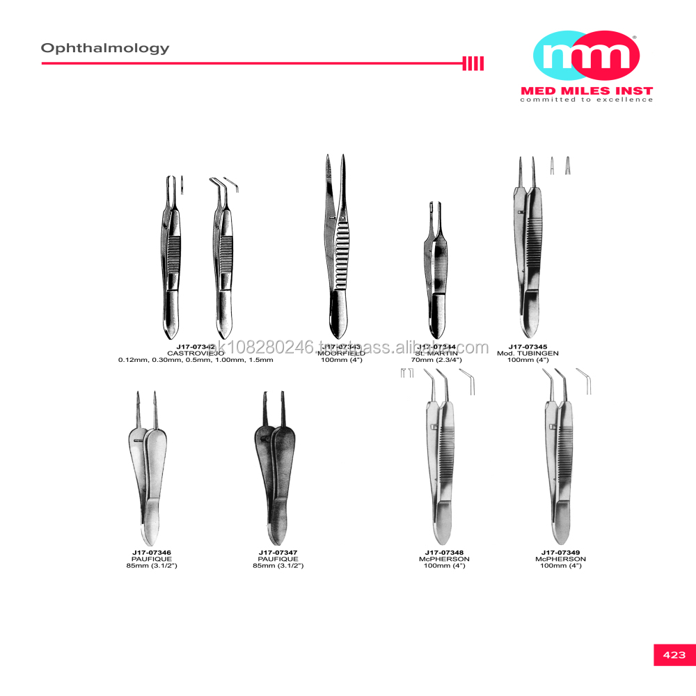 Suturing,Ligature Forceps / Ophthalmic Instruments
