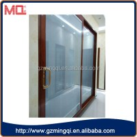 Aluminum profile double swing french doors grill design ...