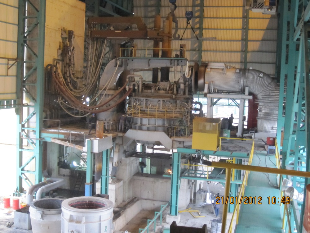 Used Electric Arc Furnace