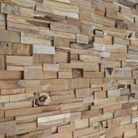 Wall Panel Wood Cladding - Buy Recycled Teakwall Wooden ...