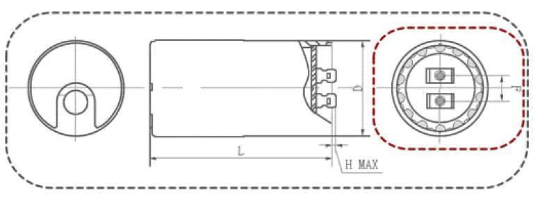 YC AC/Moteur A/C Condensateur Préférentiel Prix TUV UL