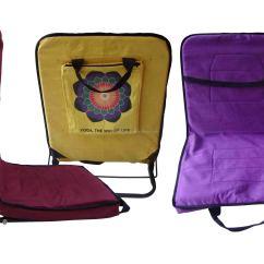 Folding Metal Yoga Chair Toddler Beach With Umbrella Meditation Buy Floor Chairs