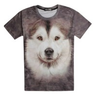 cartoon dog men brand t shirt fashion sale short sleeve