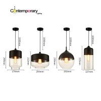Popular Blown Glass Pendant Light Fixtures