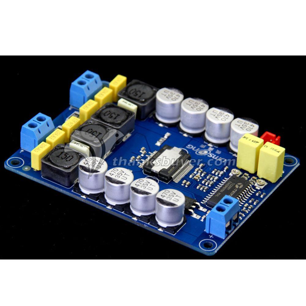 Tk2050 Class T 2x50w Hifi Dual Channel Stereo Digital Amplifier Audio Amplifiers From A To Board For Diy