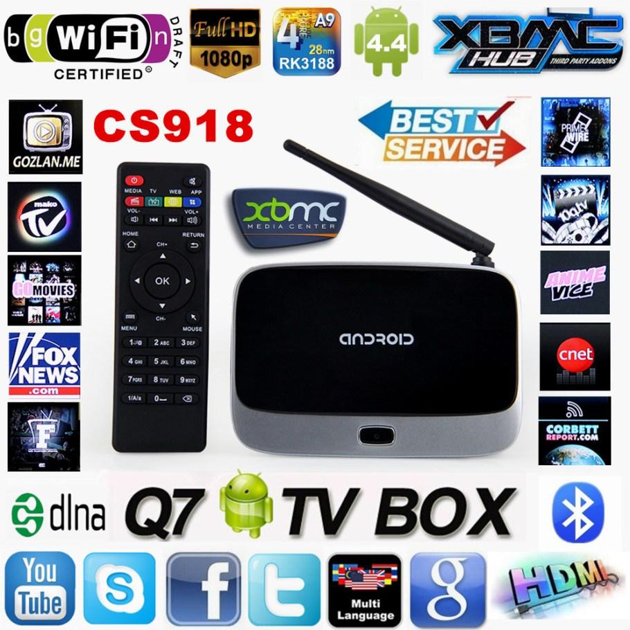 Оригинальный CS918 Android 4.4 TV BOX MK888 XBMC в полной комплектации RK3188 четырехъядерных процессоров 1 г / 8 г смарт-телевизор медиаплеер Bluetooth wi-fi антенны Цена: 35.45 EUR