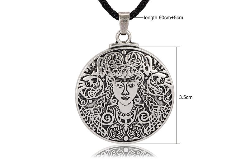 ⊹Gran Brigid celta diosa collar joyería - a675