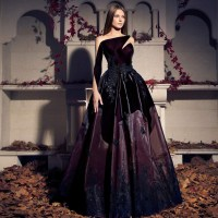 Popular Maroon Evening Dresses