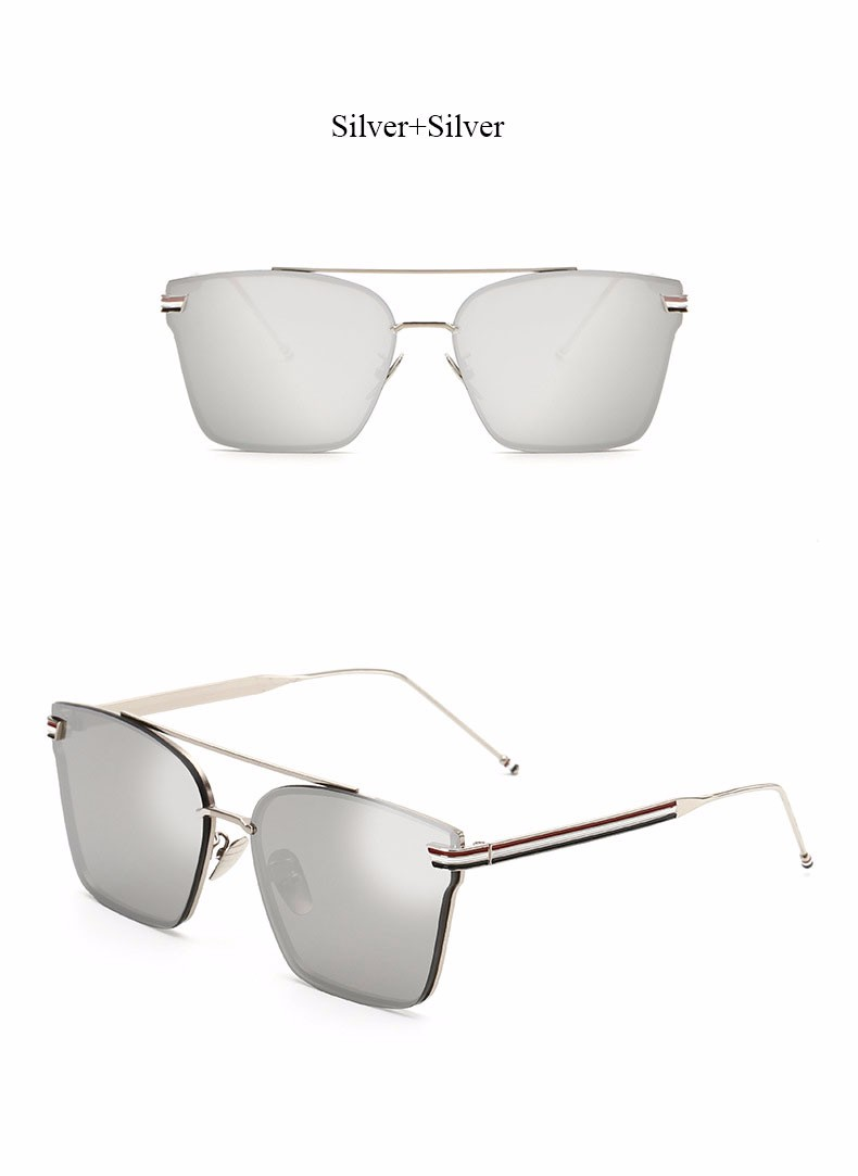 ✅VictoryLip Moda 2017 Marca Designer Óculos de Sol Quadrados ... 288a9eacc9