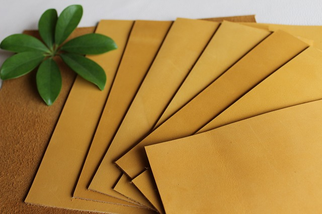 ᗔПервый слой кожи Материал скраб желтый импортного кожи ...