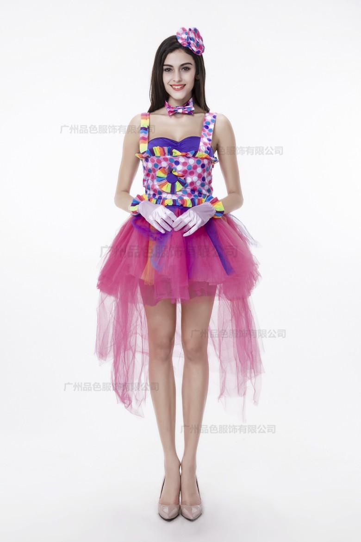 ᗗVestido de princesa para adultos payaso trajes de las mujeres ...