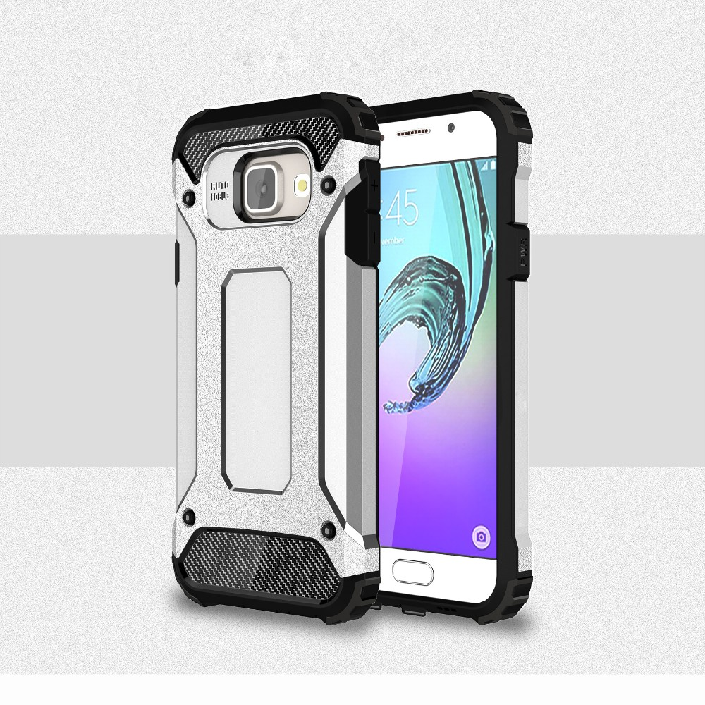 The Man Super Slim Armor Combo Case For Samsung Galaxy A310 A510 2in1 Shark Hybrid Hard Soft Huawei P9 A710 Plastic Rubber Back Cover