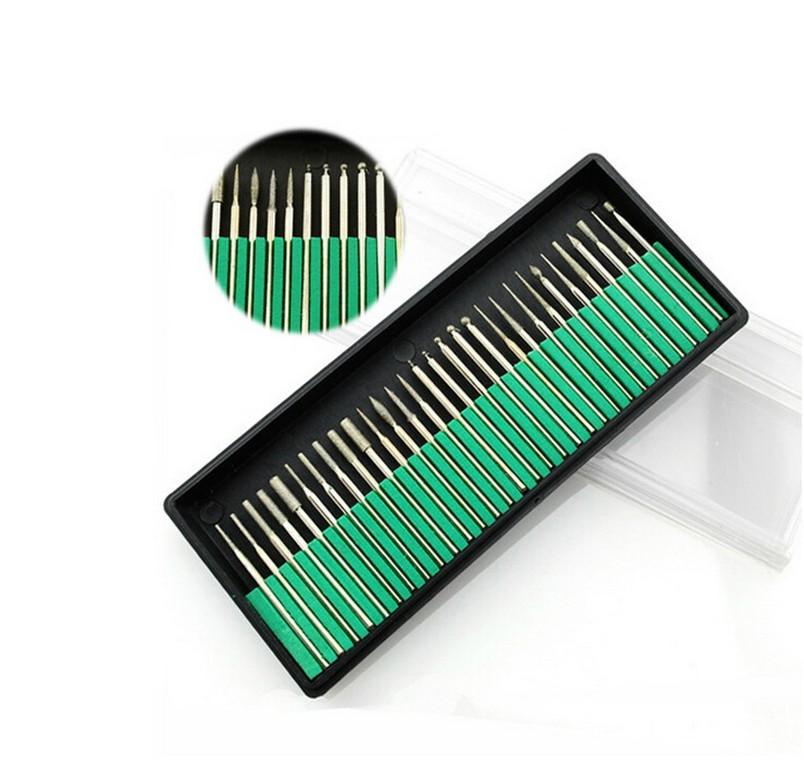 Φ_ΦPro 30 Pcs/box Nails Art Electric Files Drill Bits Replacement ...