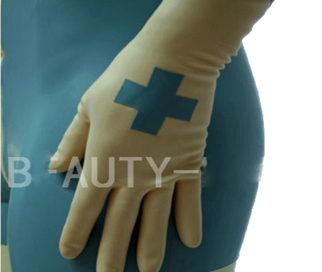 Latex Gloves For Women Fetish Sexy Clinics Plus Size Customizable  Natural Handmade Free Shipping
