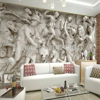 Great wall 3d wall wallpaper murals for living room, photo ...
