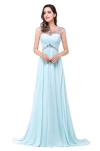 The gallery for --> Baby Blue Prom Dresses With Straps