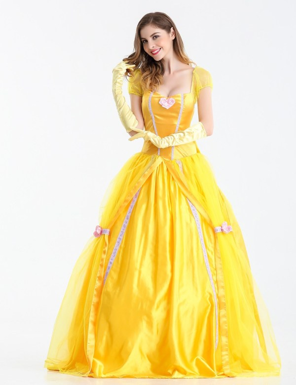 Moonight 2016 Fantasia Women Halloween Cosplay Southern Beauty And Beast Adult Princess