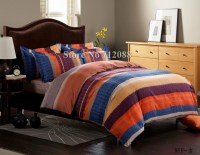 Purple And Orange Bedding