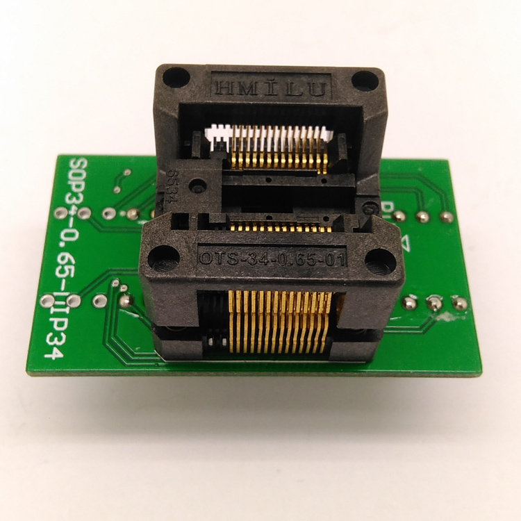 SSOP2834065 SSOP28 TSSOP28 to DIP28 Programming Socket