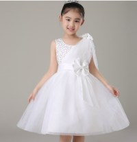New summer 2015 toddler kids girl wedding party tulle ...
