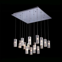 Top Sale Living Room LED Chandeliers Luxury Square Modern ...